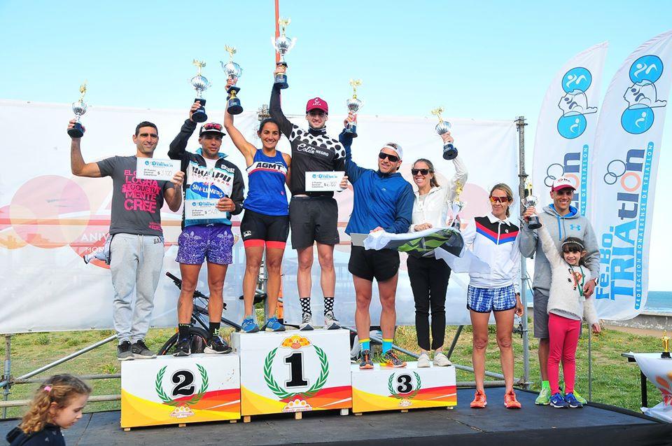 Gran labor de triatletas locales en Monte Hermoso - TSN Noticias