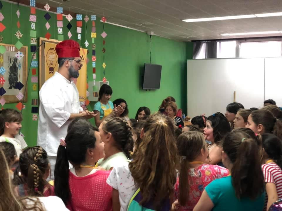 La repostería fue protagonista en el Centro Cultural - TSN Noticias